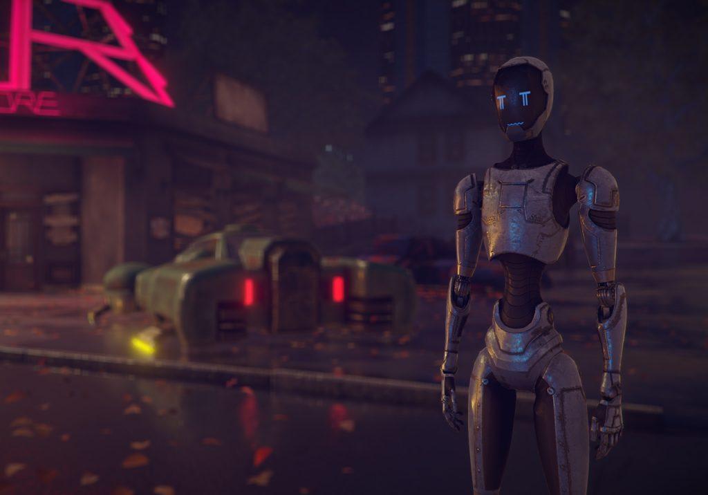 Sad robot The Uncertain
